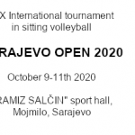 New date for the Sarajevo Open 2020: October 9-11th
